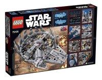 LEGO Star Wars 75105 Millennium Falcon-Arrière