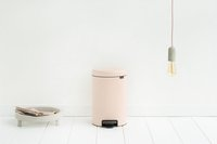 Brabantia Pedaalemmer newIcon Clay Pink 12 l-Afbeelding 3