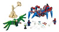 LEGO Spider-Man 76114 Spider-Man's spidercrawler-Vooraanzicht