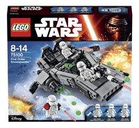LEGO Star Wars 75100 First Order Snowspeeder-Vooraanzicht