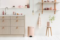 Brabantia Pedaalemmer NewIcon Clay Pink 20 l-Afbeelding 3