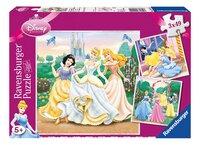 Ravensburger puzzel 3-in-1 Prinsessendromen-Vooraanzicht