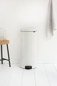 Brabantia Pedaalemmer newIcon wit 30 l-Afbeelding 1