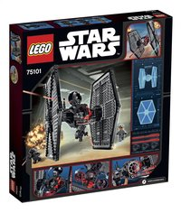 LEGO Star Wars 75101 First Order Special Forces TIE fighter-Arrière