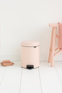 Brabantia Poubelle à pédale newIcon clay pink 5 l-Image 1
