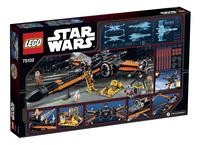 LEGO Star Wars 75102 Poe's X-Wing Fighter-Arrière