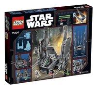 LEGO Star Wars 75104 Kylo Ren's Command Shuttle-Achteraanzicht