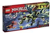 LEGO Ninjago 70736 L'attaque du dragon Morro