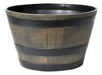 MCollections Bloembak ton bruin 50,5 cm