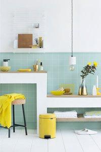 Brabantia Pedaalemmer newIcon Daisy Yellow 5 l-Afbeelding 2