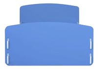 Peuterbed wit/blauw