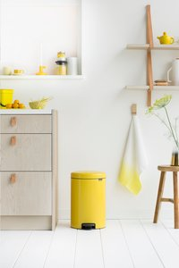 Brabantia Pedaalemmer newIcon Daisy Yellow 20 l-Afbeelding 2