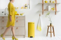 Brabantia Pedaalemmer NewIcon Daisy Yellow 30 l-Afbeelding 2