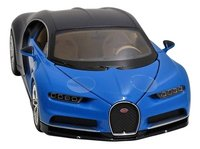 Welly auto Bugatti Chiron-Vooraanzicht