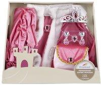 DreamLand verkleedpak prinsessenset 6-delig roze