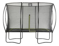 EXIT trampolineset Silhouette zwart L 3,66 x B 2,44 m-Vooraanzicht