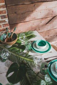 Cosy & Trendy 6 kommetjes Invertida Ø 13,5 cm groen-Afbeelding 5
