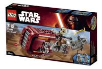 LEGO Star Wars 75099 Rey's Speeder-Côté droit