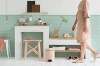 Brabantia Poubelle à pédale newIcon clay pink 5 l-Image 3