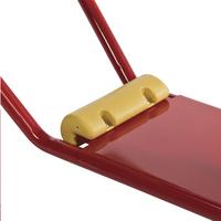Metalen schommelboot Club rood-Artikeldetail