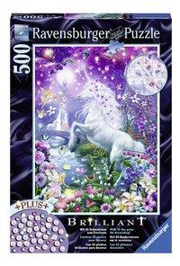 Ravensburger puzzle Brillant La licorne dans sa forêt enchantée-Avant