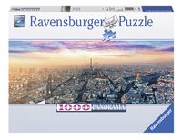 Ravensburger panoramapuzzel Parijs in het ochtendlicht-Vooraanzicht