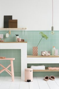Brabantia Pedaalemmer newIcon Clay Pink 3 l-Afbeelding 1