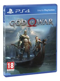 PS4 God of War ENG/FR-Linkerzijde