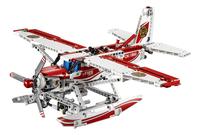 LEGO Technic 42040 Brandblusvliegtuig-Vooraanzicht