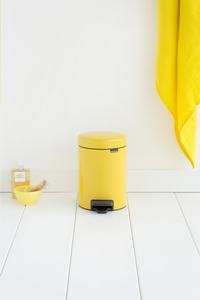 Brabantia Pedaalemmer newIcon Daisy Yellow 3 l-Afbeelding 2