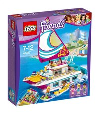 LEGO Friends 41317 Sunshine Catamaran-Linkerzijde