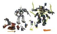 LEGO Ninjago 70737 Duel Titan Mech en Mech-enstein-Vooraanzicht