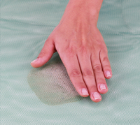 Tapis de plage anti-sable bleu-Détail de l'article