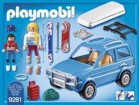 PLAYMOBIL Family Fun 9281 4x4 avec coffre de toit-Arrière