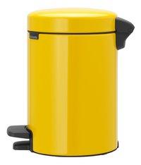 Brabantia Pedaalemmer NewIcon Daisy Yellow 3 l-Rechterzijde