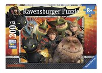 Ravensburger puzzle XXL Dragons Hicks, Astrid et les dragons-Avant