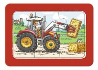 Ravensburger Puzzel 3-in-1 My First Graafmachine, tractor en kiepauto-Artikeldetail
