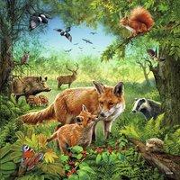 Ravensburger puzzle 3 en 1 Les animaux du monde-Détail de l'article