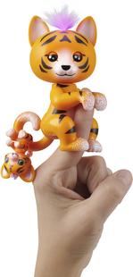 Fingerlings interactieve figuur Benny The Purrrfect Tiger-Afbeelding 1