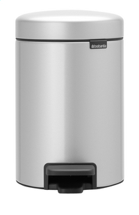 Brabantia Pedaalemmer newIcon metallic grey 3 l
