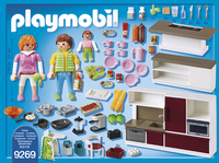 Playmobil city life 9269 cuisine am nag e collishop for Cuisine 9269