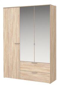 Young armoire 3 portes et 2 tiroirs-Côté droit