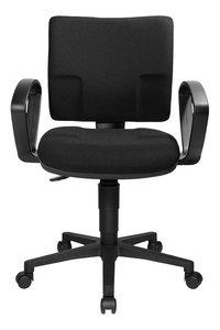Topstar chaise de bureau avec accoudoirs U50 noir-Avant