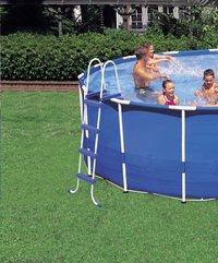 Intex piscine Frame Pool diamètre 5,49 m-Image 3