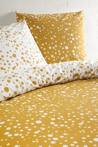 Day Dream Dekbedovertrek Florieke geel katoen 140 x 220 cm-Afbeelding 2