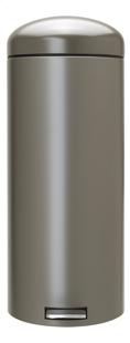Brabantia Pedaalemmer Retro Bin platinum 30 l