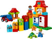LEGO DUPLO 10580 Deluxe bouwdoos-Vooraanzicht