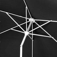 Parasol aluminium Diamètre 3 m noir-Détail de l'article
