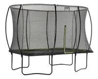 EXIT trampolineset Silhouette zwart L 3,66 x B 2,44 m-Linkerzijde