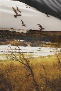 Beddinghouse Dekbedovertrek Wintery lake natural katoen-Artikeldetail